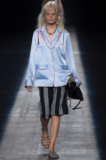 Pijama de calle Alexander Wang SS 2016
