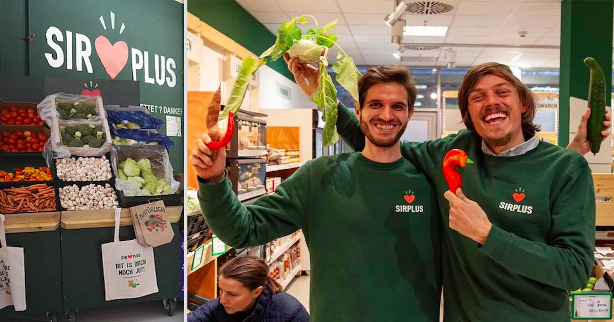 Berlin Supermarket Resells Rejected Food And Manages to Save Over 2,000 Tons Of Food Waste