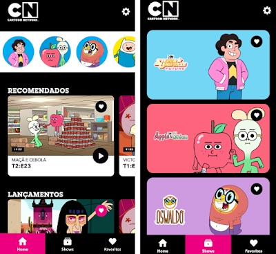 Cartoon Network lança nova plataforma de vídeo