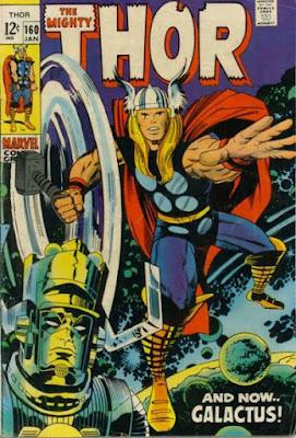 Thor #160, Galactus