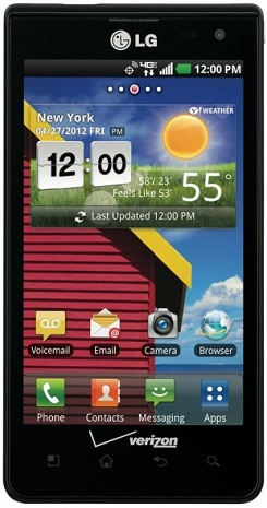 LG Lucid receives 4.0 Ice Cream Sandwich