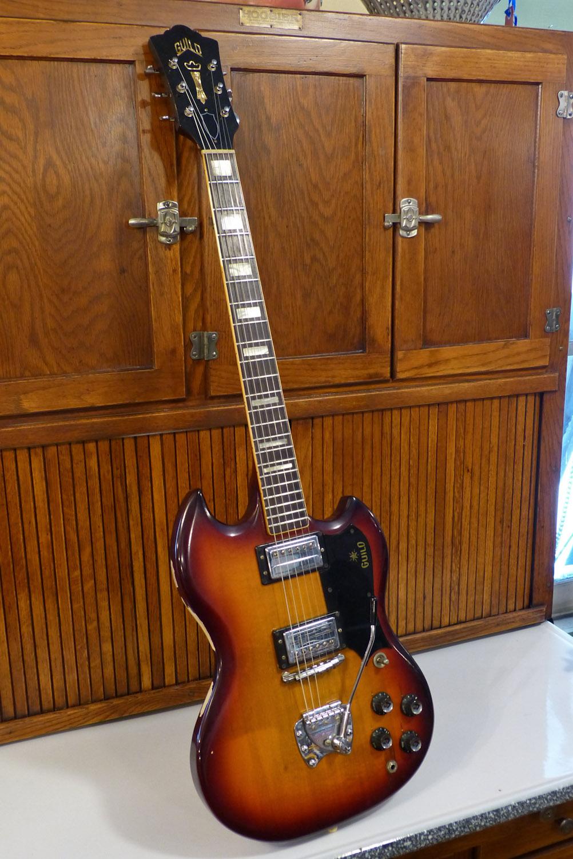 1970 guild s 100 polara solidbody electric guitar. Black Bedroom Furniture Sets. Home Design Ideas