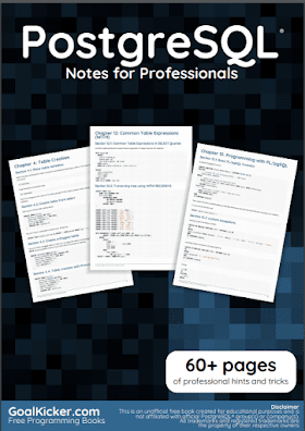 PostgreSQL pdf book Notes | Free Download
