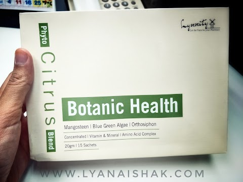 Kekal Sihat dan Bertenaga dengan Botanic Health (Phyto Citrus Blend) dan Tenangkan Hari Anda dengan Lynnity Relief Therapeutic-Grade Essential Oil