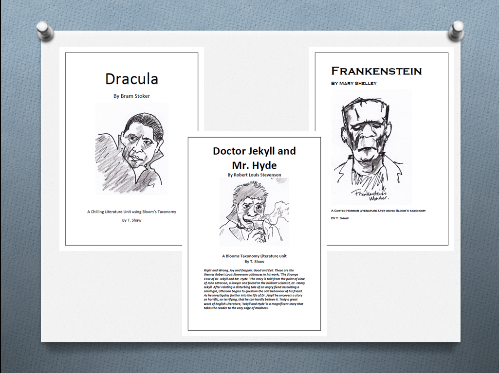Learning With Literature: New Unit - Classic Horror