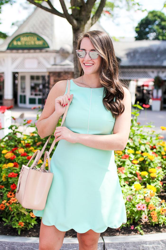 Krista Robertson, Covering the Bases, Travel Blog, NYC Blog, Preppy Blog, Style, Fashion Blog, LifeStyle Blog,  Saratoga Races, NY, Mint Dress, Spring Style, Summer Fashion, Pastel Dresses, Fashion, Summer Must Haves