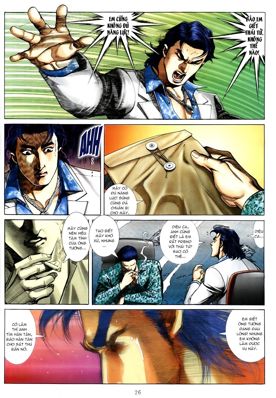 Người Trong Giang Hồ chapter 556: làm khó nam đẹp trai trang 18