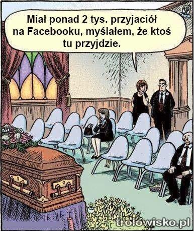 Przyjaciele na facebooku