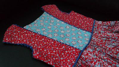 zomerjurk Burda, naaiwedstrijd MaMarieke