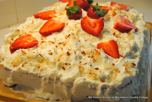 Nana's Tres Leches Cake at Miz Helen's Country Cottage