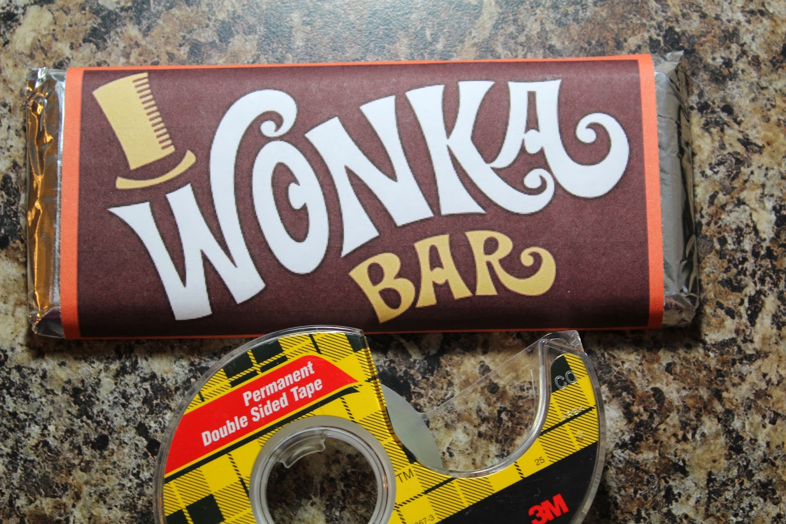 image regarding Printable Wonka Bar Wrapper identify Spark and All: Charlie and the Chocolate Manufacturing facility