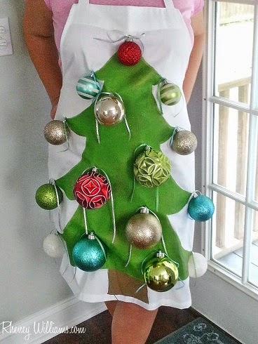 christmas tree diy finished costume