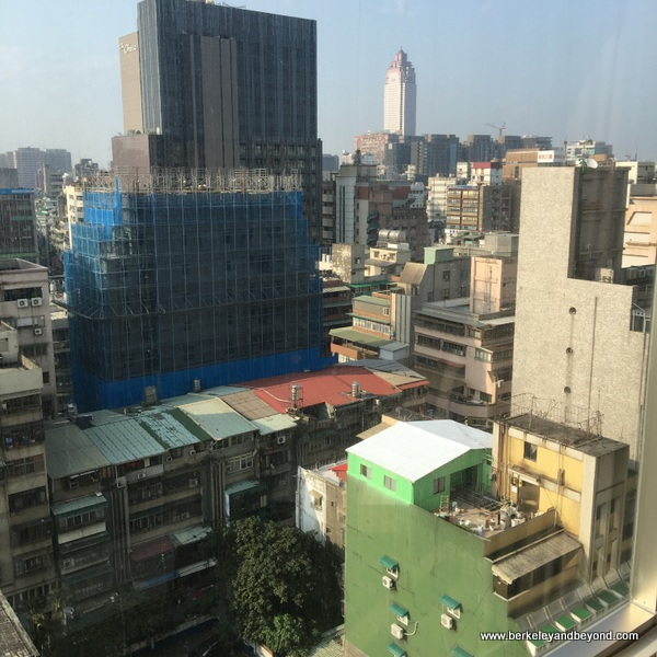 view 2 from guest room at Regent Taipei in Taiwan