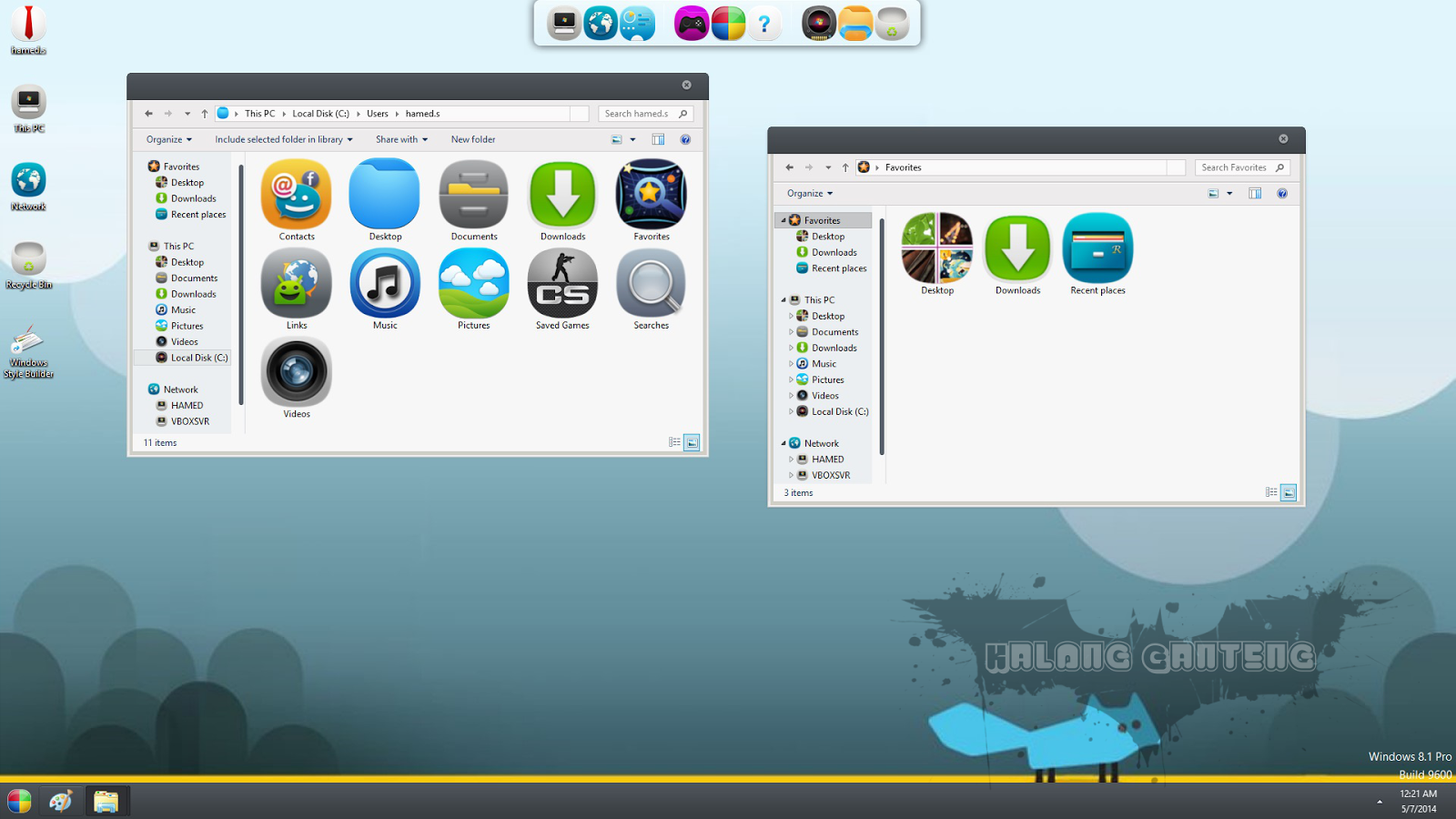 MeeGo Skin Pack for win 8 Screenshot