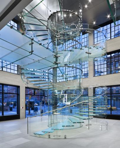 Nyc New York: FIRST LOGIC Blog: Apple Innovates The Architectural