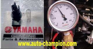 tekanan bahan bakar tidak normal