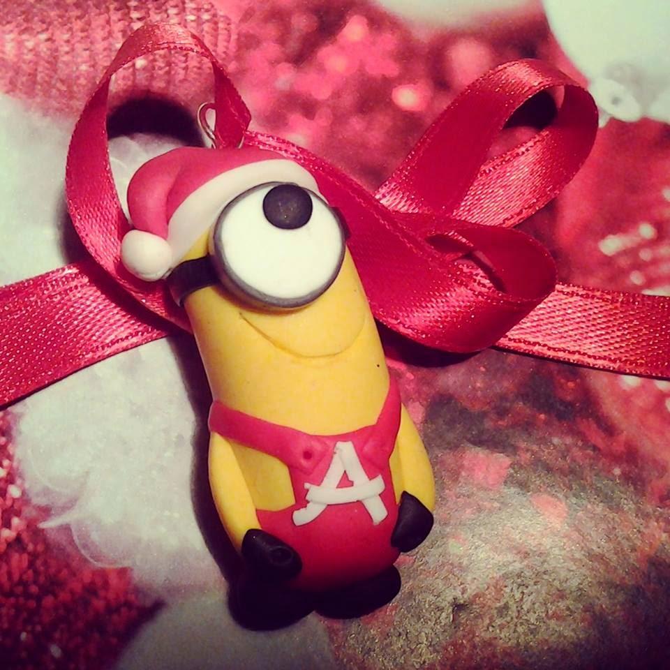 Minion Natale in Fimo