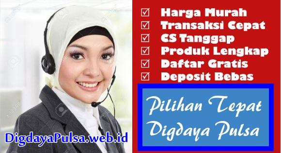 DigdayaPulsa.web.id Web Resmi Server Digdaya Tronik Pulsa Termurah Saat Ini