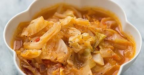 The Low Carb Diabetic Wonderful Low Carb Cabbage Soup Recipe