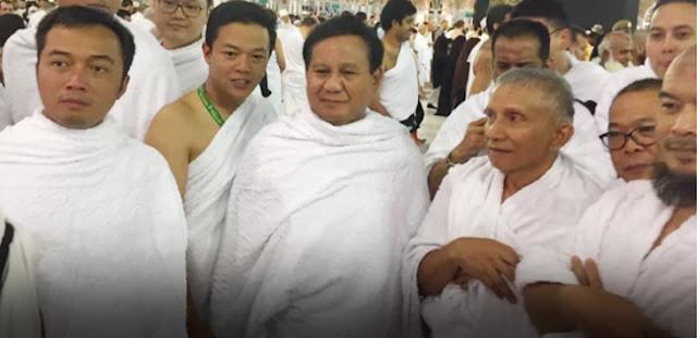 Amien Rais dan Prabowo Sudah di Mekkah, Aa Gym dan Ustaz Arifin Ilham Juga Umroh