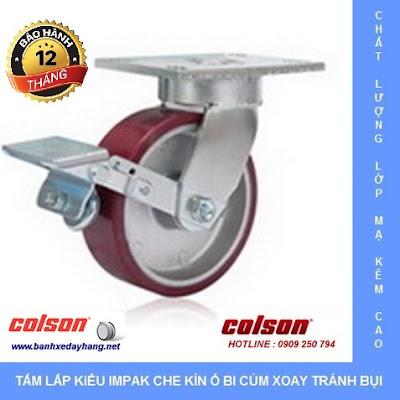 Báo giá bánh xe chịu lực phi 150 - 200 Colson Caster Mỹ www.banhxeday.xyz