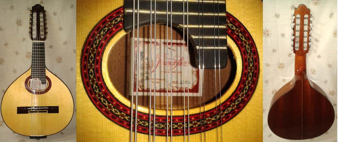 Bandurria Prudencio Sáez mod. 130 B. Sapelly macizo