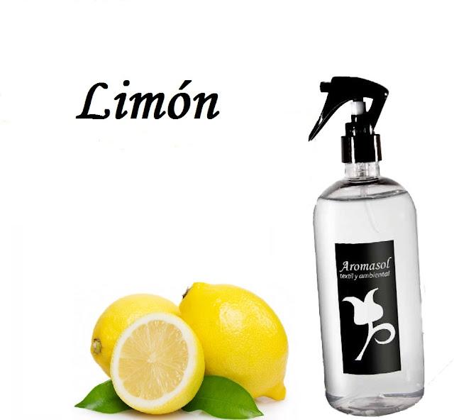 Perfume para la ropa Limón