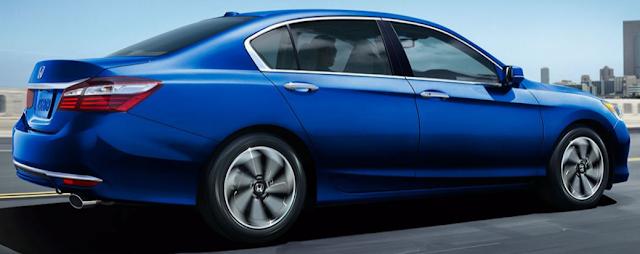 2016 Honda Accord Sedan Specifications