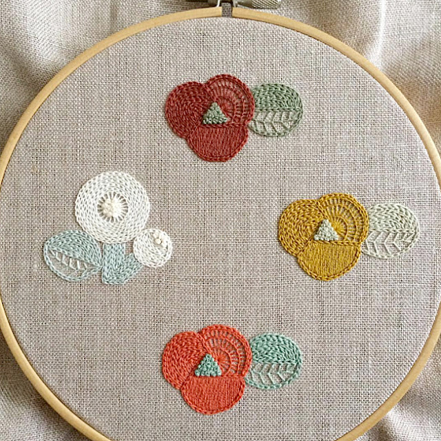 Embroidery works by Ironna Happa
