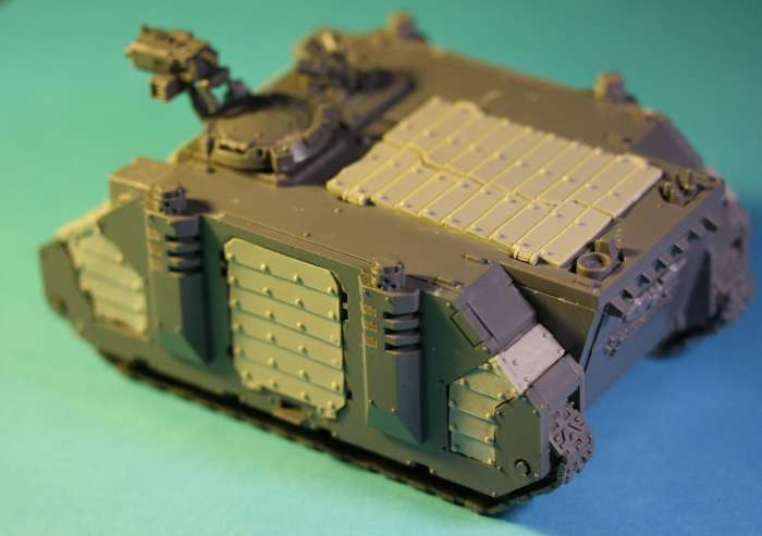 Miniature Wargame Conversions: [The Rogue Trader] Chapterhouse