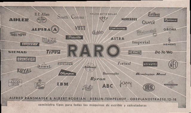 Tecteclas marcas na imagem acima h uma vasta listagem de fabricantes de mquinas de escrever e de clculos que despontavam no princpio do sculo xix fandeluxe Images