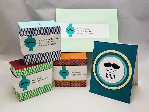 Peek-A-Boo Father's Day Box Card