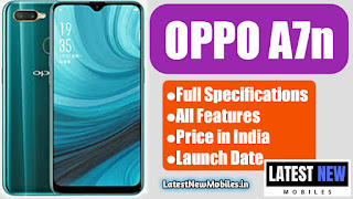 Oppo a7n specifications