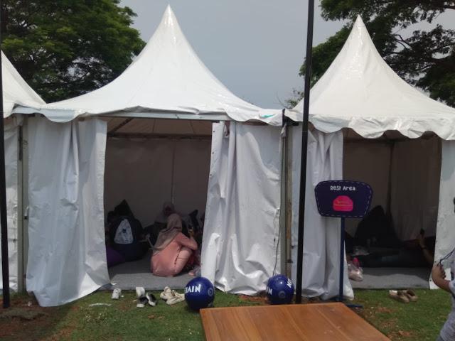 Harga sewa tenda di pantai