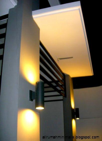 model lampu hias dinding minimalis cantik sampel rumah