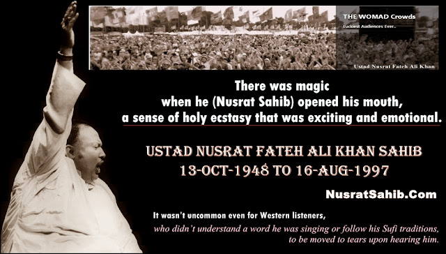 68th Birth Anniversary [13-Oct-1948] of Nusrat Fateh Ali Khan | NusratSahib.Com
