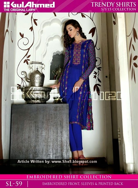 Kurtis for College and Office going Girls by Gul Ahmed