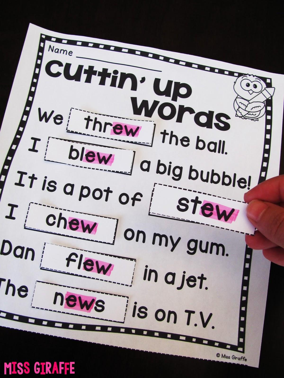 ui ue ew Sounds Game - Softschools.com