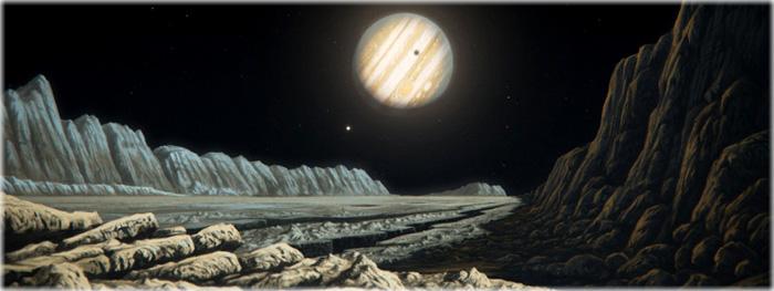 vida em ganimedes? o maior oceano do Sistema Solar
