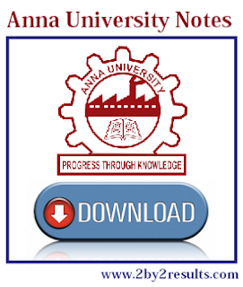 Anna University 1st semester Notes PDF Download Regulation 2017