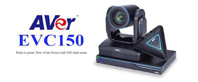 AVer EVC150 là giải pháp hội nghị truyền hình đầu cuối mới