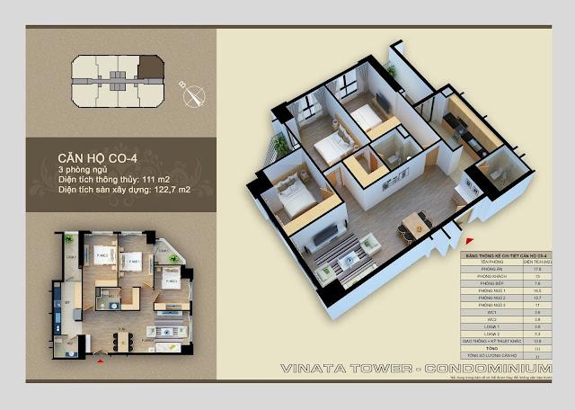 căn hộ c0- 4 chung cư vinata tower