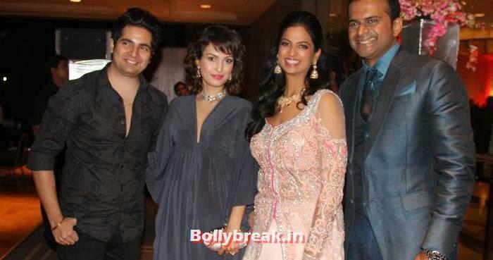Karan Mehra, Nisha Rawal, Neha Kannan, Siddharth Kannan, Siddharth Kannan & Neha Agarwal Wedding Reception Pics