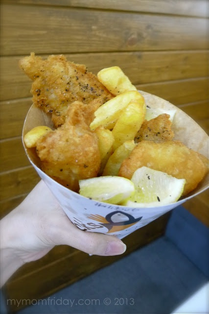 Chuck's Grub, Best Fish & Chips in Manila