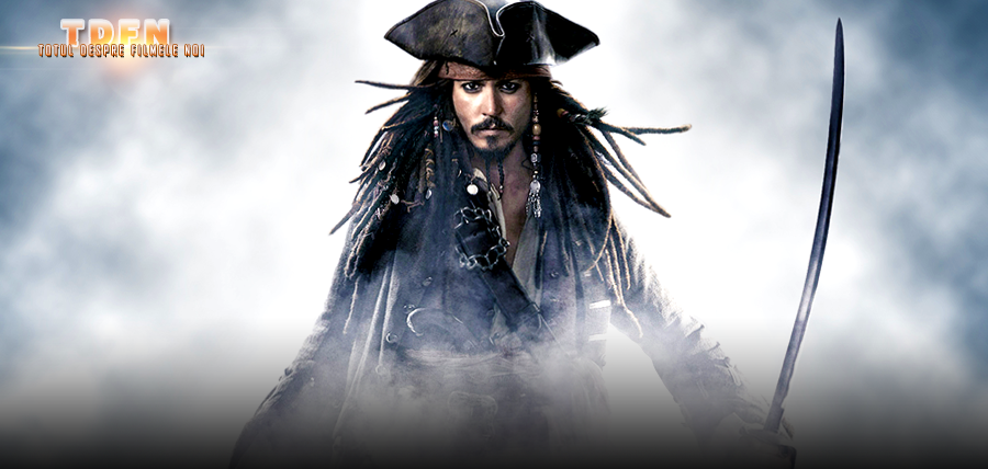 Jack Sparrow (Johnny Depp), va cauta tridentul lui Poseidon în filmul Pirates Of The Caribbean 5