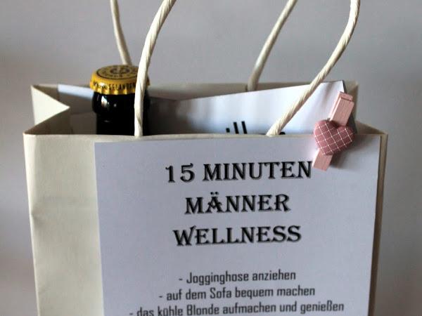 DIY 15 Minuten Männer Wellness