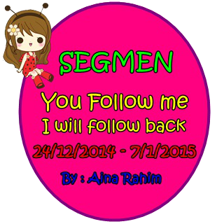 SEGMEN YOU FOLLOW ME, I WILL FOLLOW YOU BACK