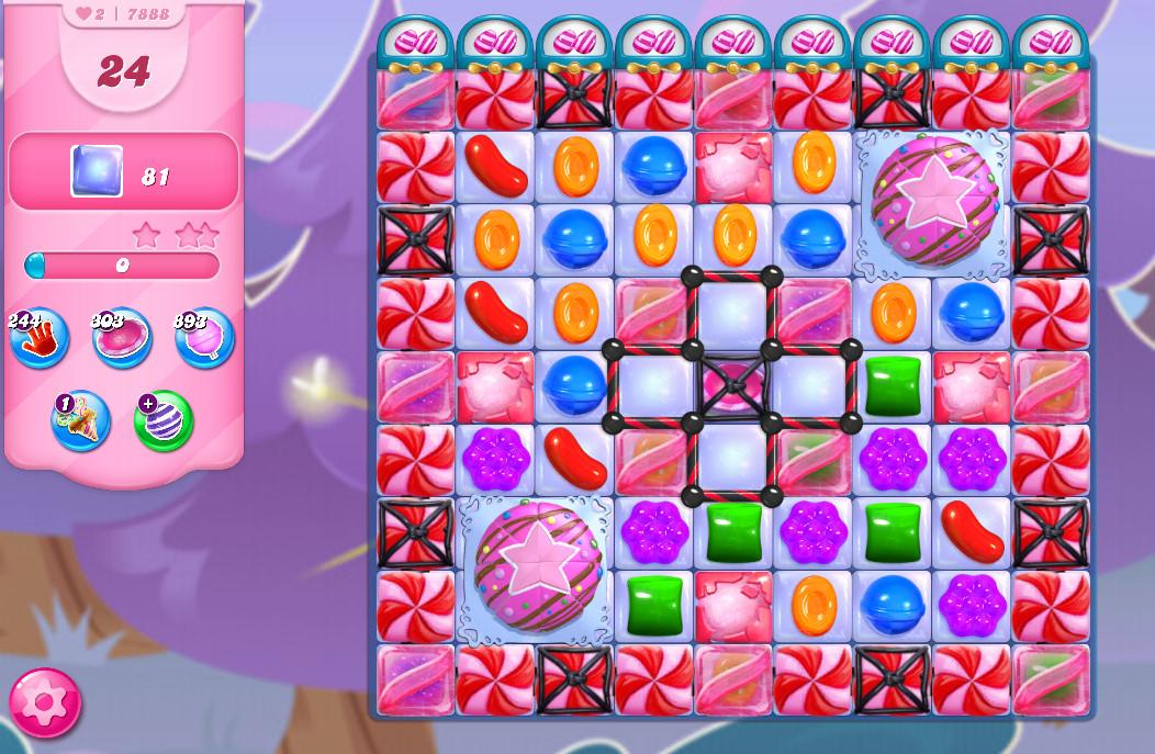 Candy Crush Saga level 7888