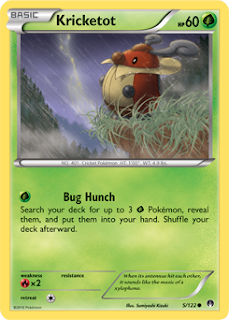 Kricketot BREAKpoint Pokemon Card