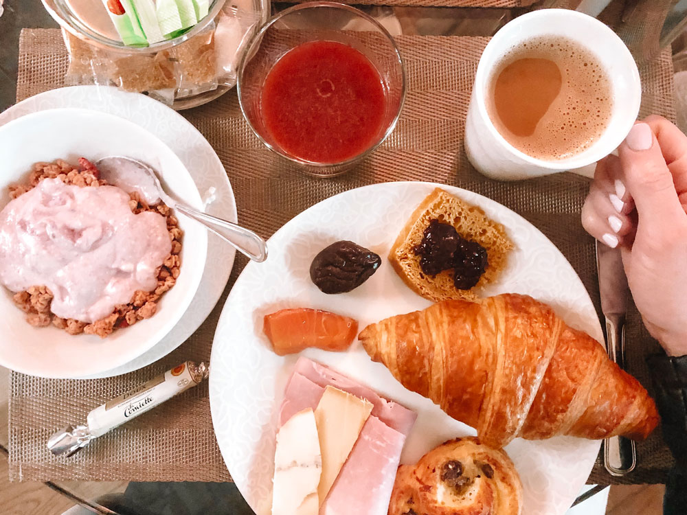 100% organic breakfast at Hotel Chavanel